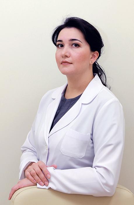 к.м.н. дерматокосметолог Азиза Усманова