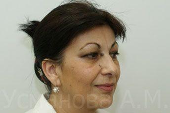 до удаления родинки, врач дерматокосметолог, к.м.н. Усманова Азиза